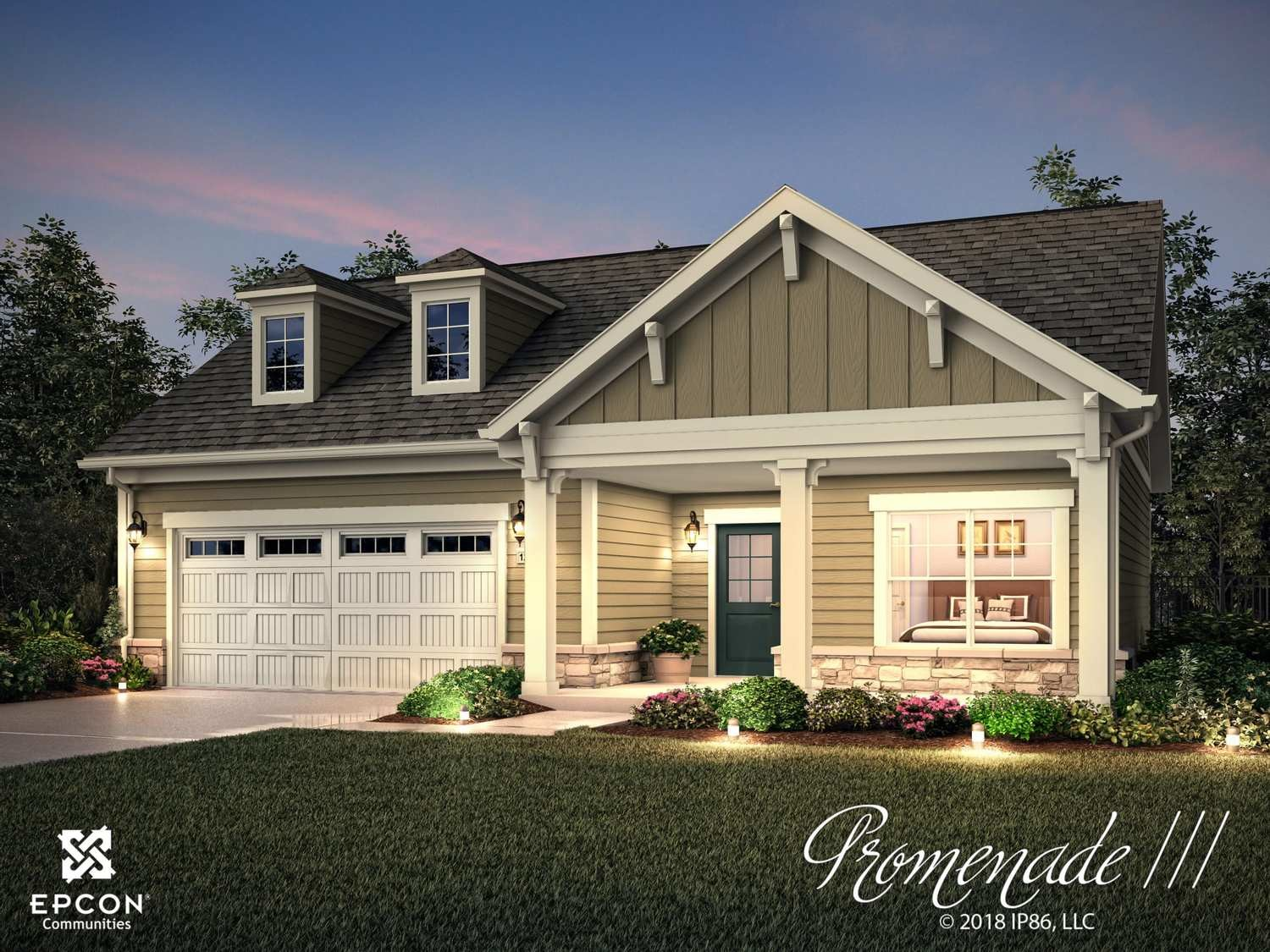 Move In Ready New Home In The Courtyards on Hyland Run Community