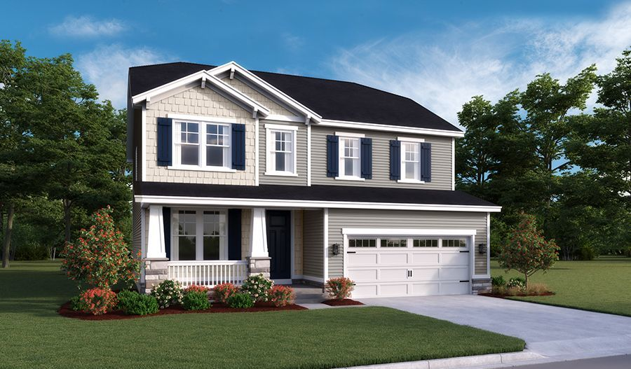 Ready To Build Home In Keswick Community
