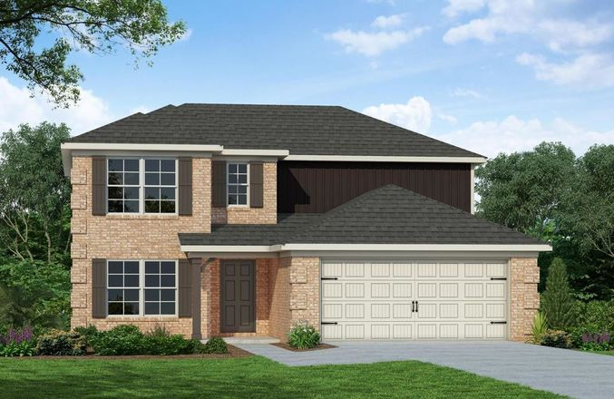 Ready To Build Home In Gingerwood Community