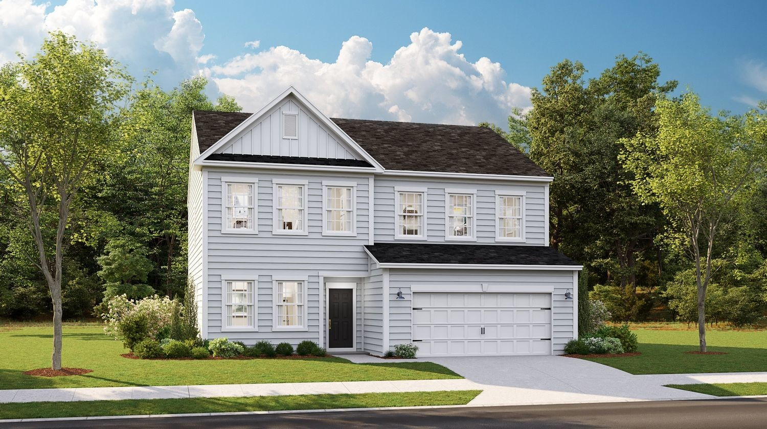 Ready To Build Home In Cypress Preserve - Arbor Collection Community