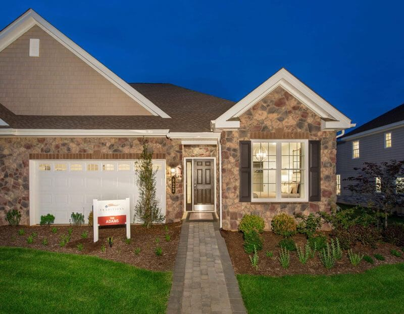 Ready To Build Home In East Petersburg Community