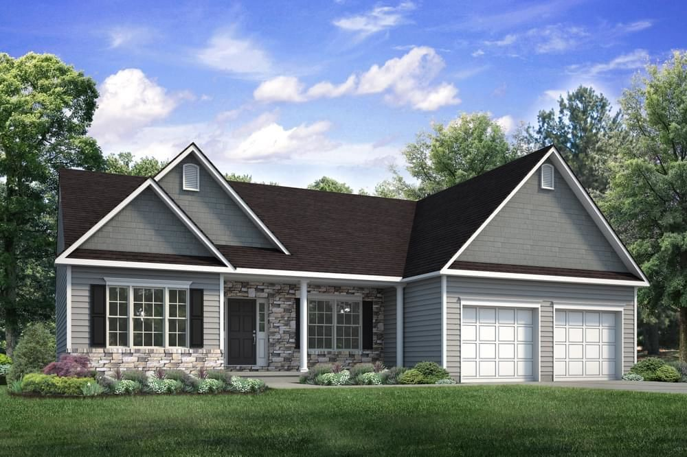 Ready To Build Home In Sand Springs Community