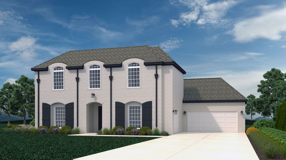 Ready To Build Home In Savannah Estates Community