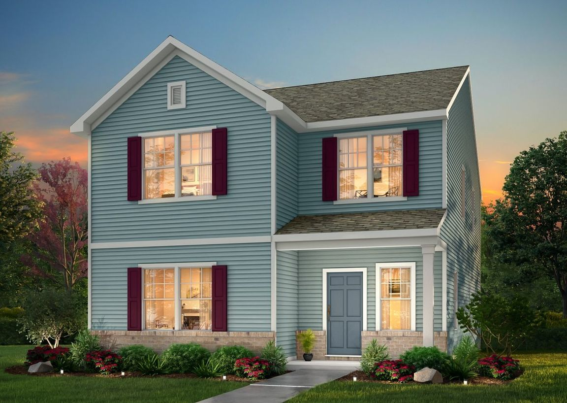 Move In Ready New Home In Copperstone Village Community