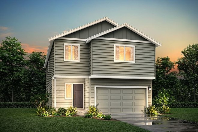 Ready To Build Home In Cantergrove at Long lake Community