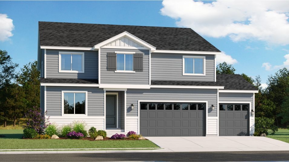 Ready To Build Home In Prevail - Summit Community