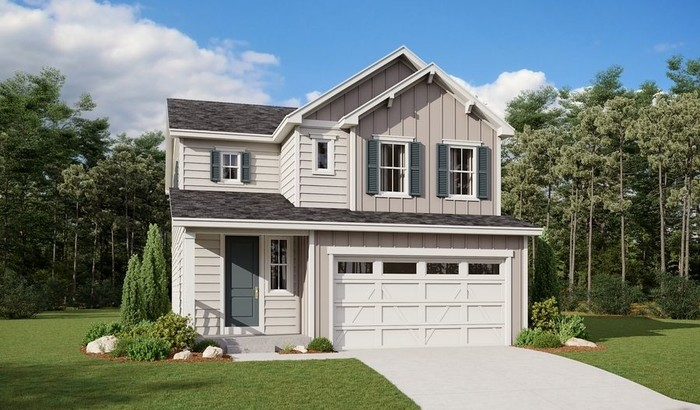 Ready To Build Home In Hawthorn at The Meadows Community