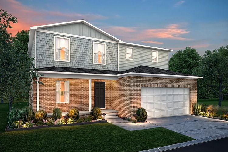 Move In Ready New Home In Brooke's Meadow Community