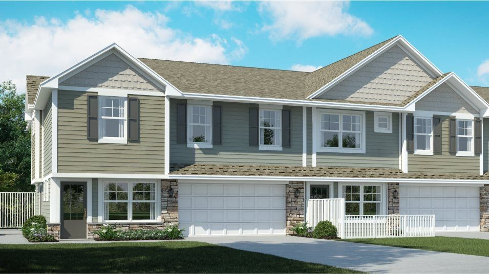 Move In Ready New Home In Watermark - Colonial Manor Collection Community