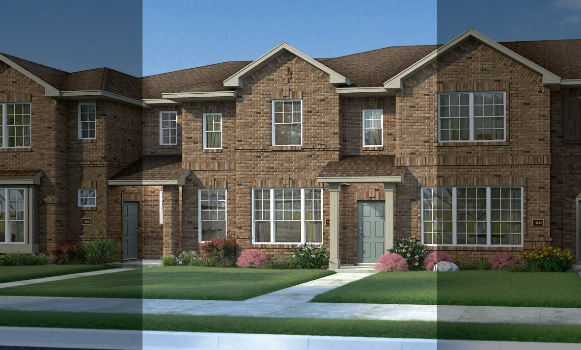 Move In Ready New Home In Balmoral Townhomes Community