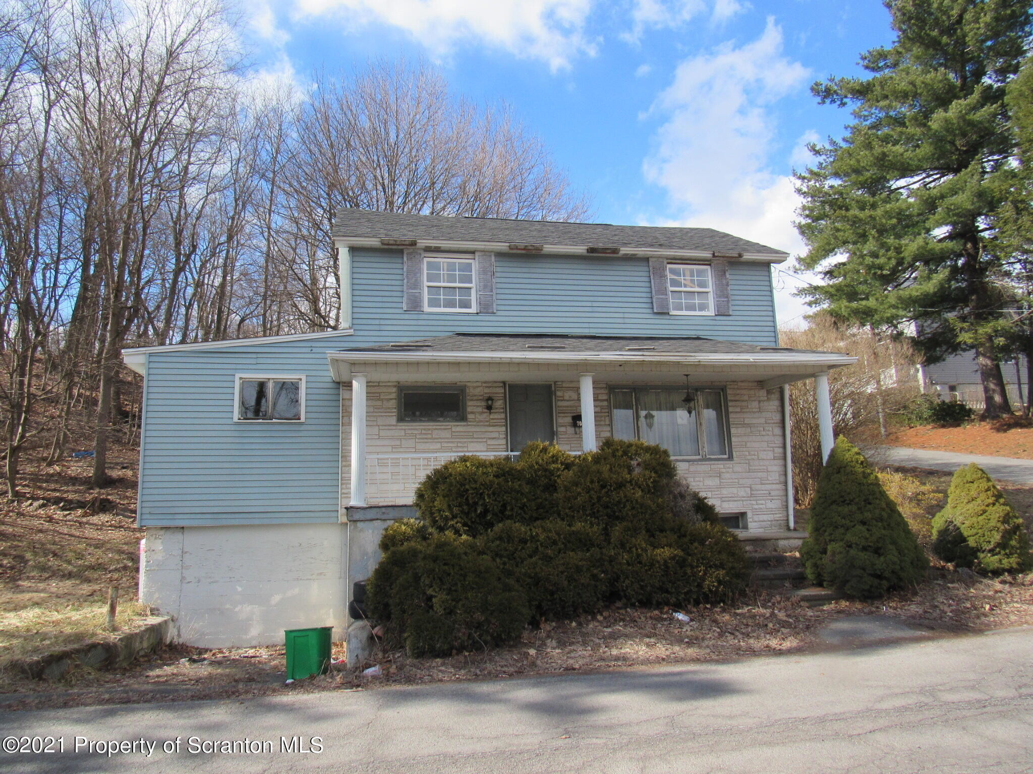 Updated 2-Bedroom House In Archbald