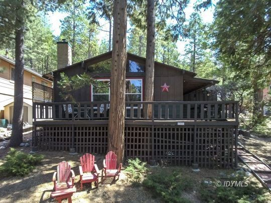 3-Bedroom House In Idyllwild Mountain Park