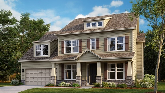 Move In Ready New Home In Overlook at Barber Rock Community