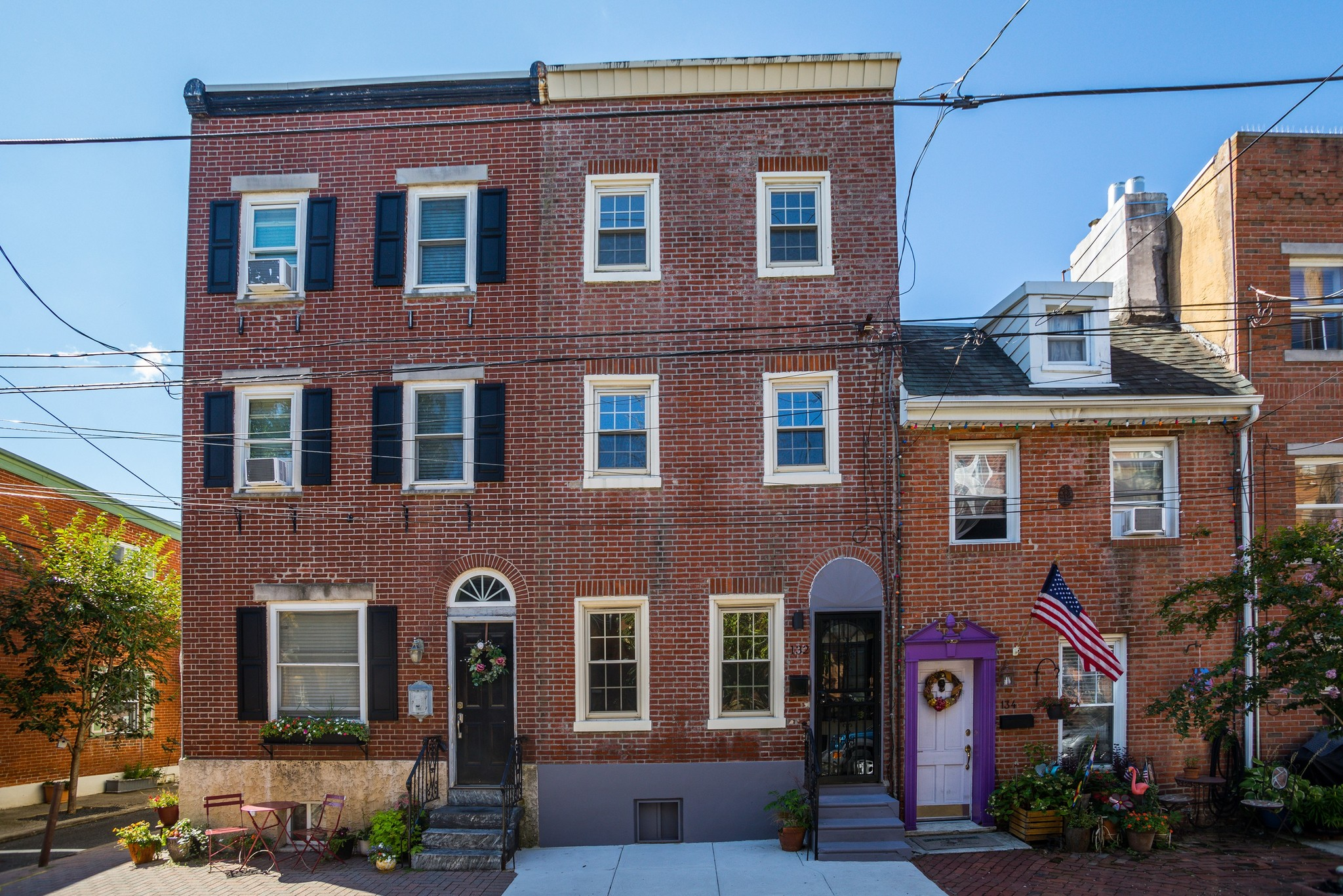 Renovated 2-Bedroom House In Pennsport