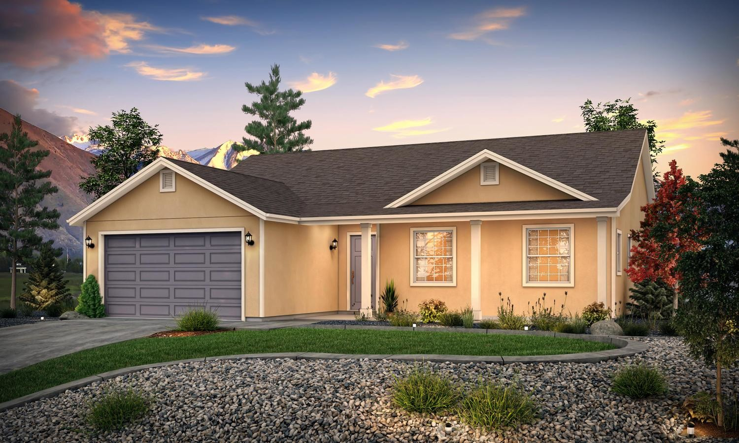 Ready To Build Home In Arrowleaf Community