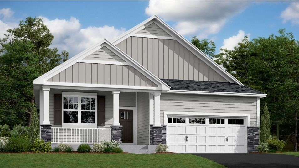 Move In Ready New Home In Laurel Creek - Lifestyle Villa Collection Community
