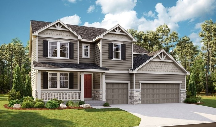 Move In Ready New Home In The Landing at Cobblestone Ranch Community