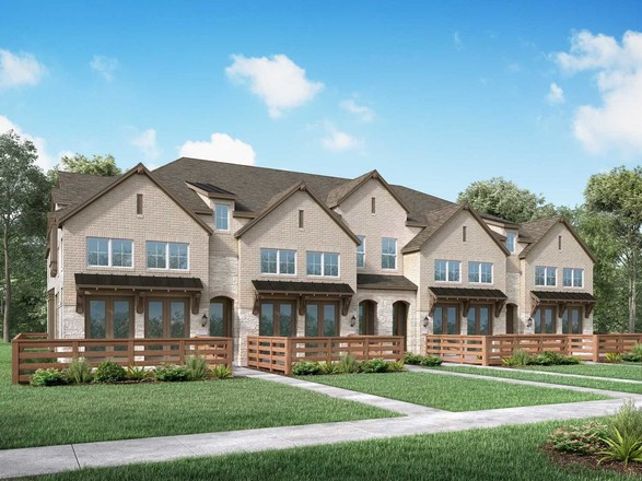 Move In Ready New Home In Trinity Falls: Townhomes Community