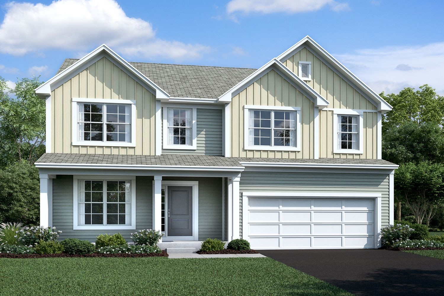 Move In Ready New Home In Homes at Foxfire Community