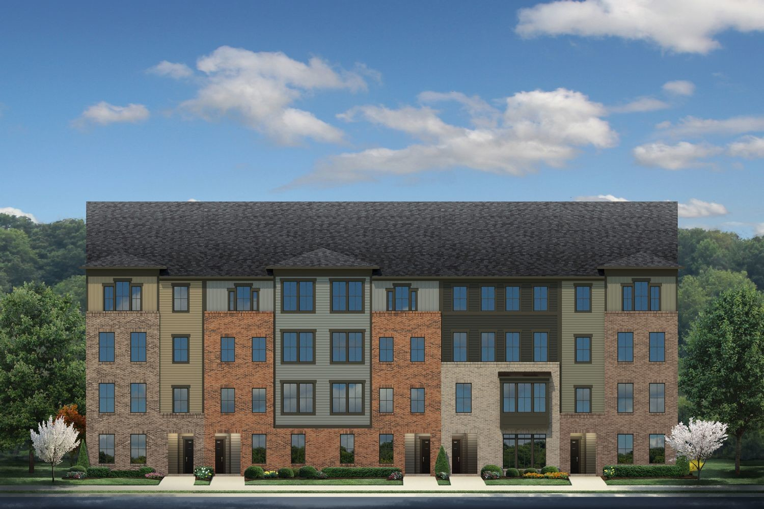 Move In Ready New Home In Foster's Glen Townhomes & Condos Community