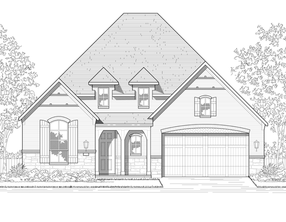 Move In Ready New Home In Cane Island: 55ft. lots Community