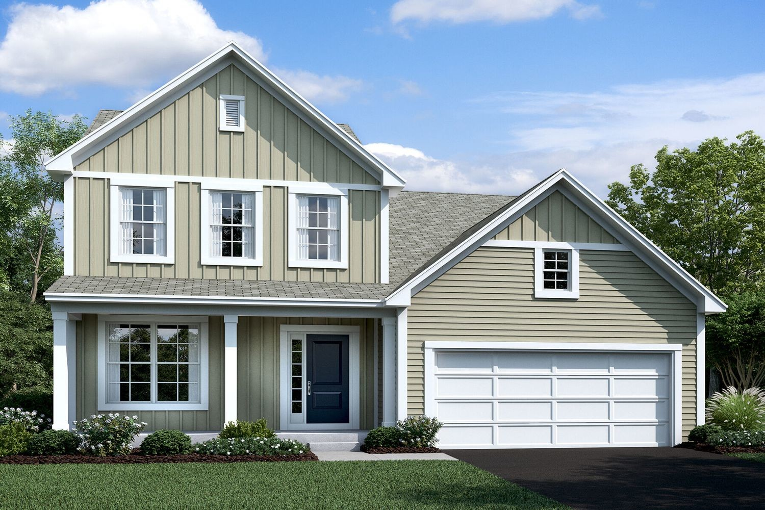 Move In Ready New Home In Retreat at Woodcrest Crossing Community