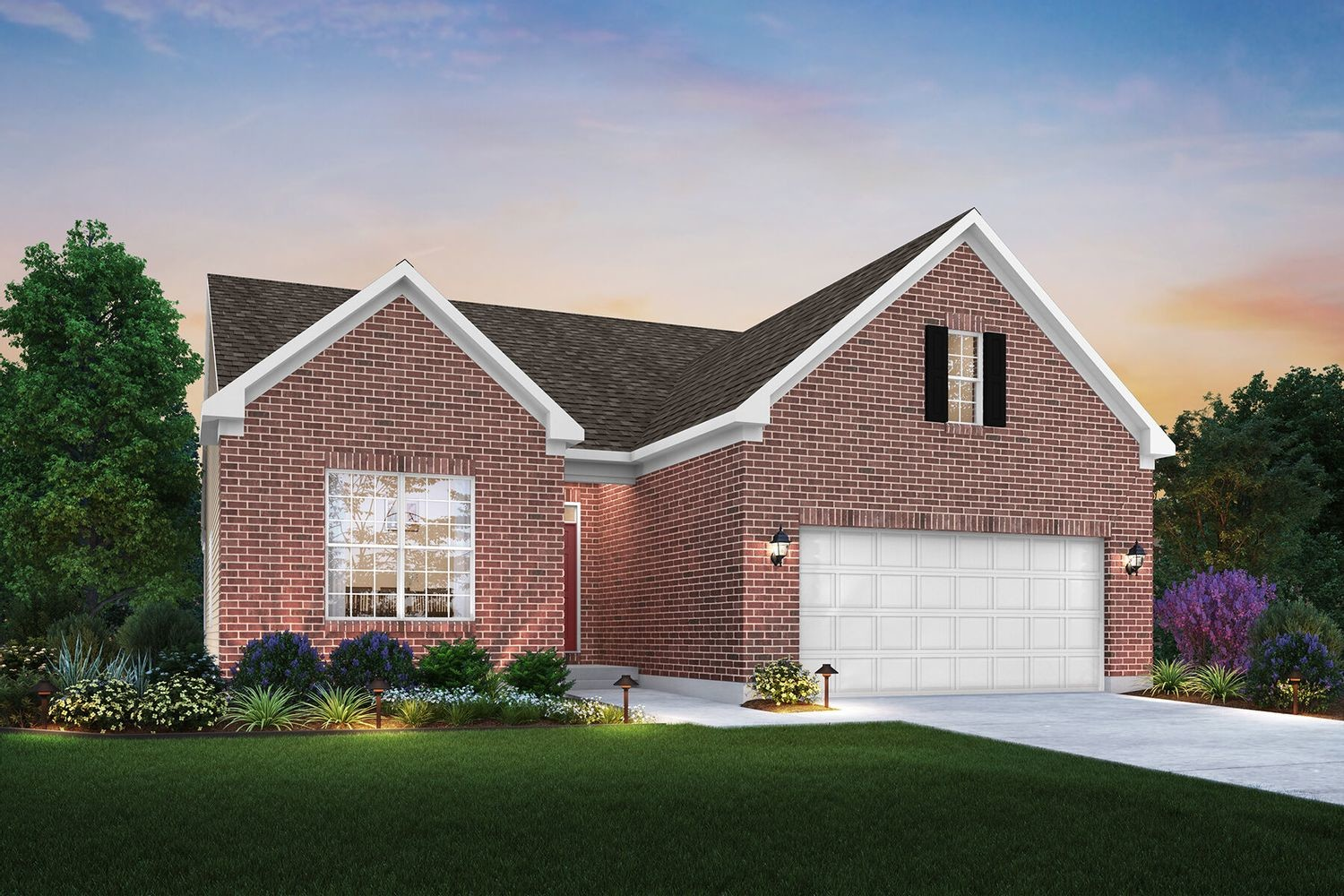Ready To Build Home In Auburn Grove Community