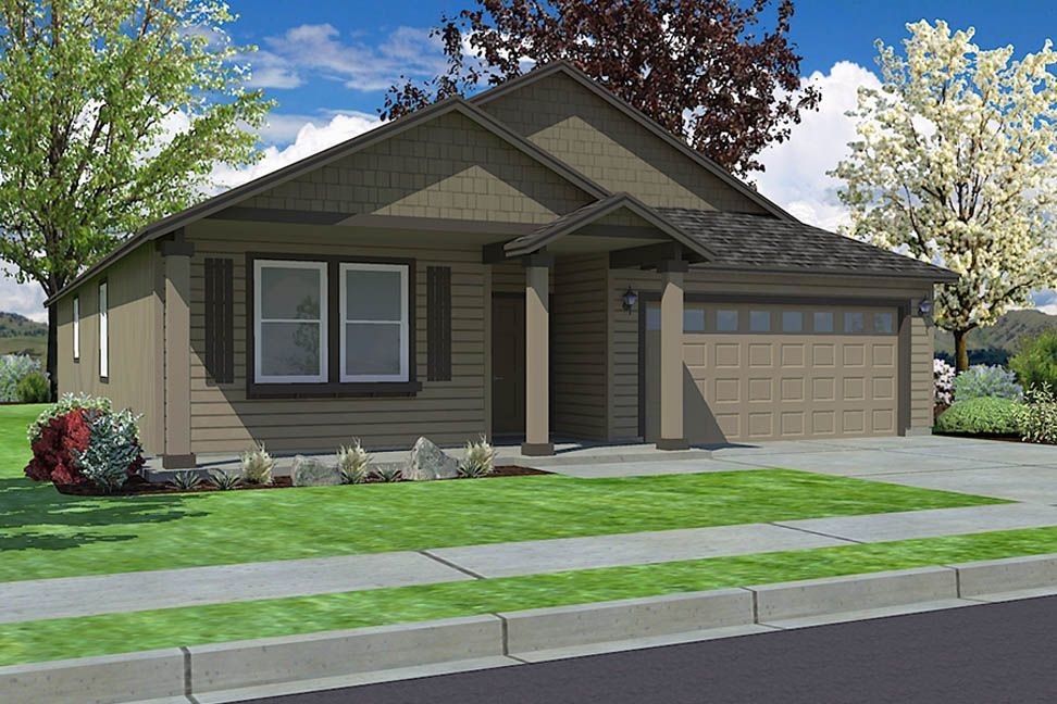 Move In Ready New Home In Brookshire Community