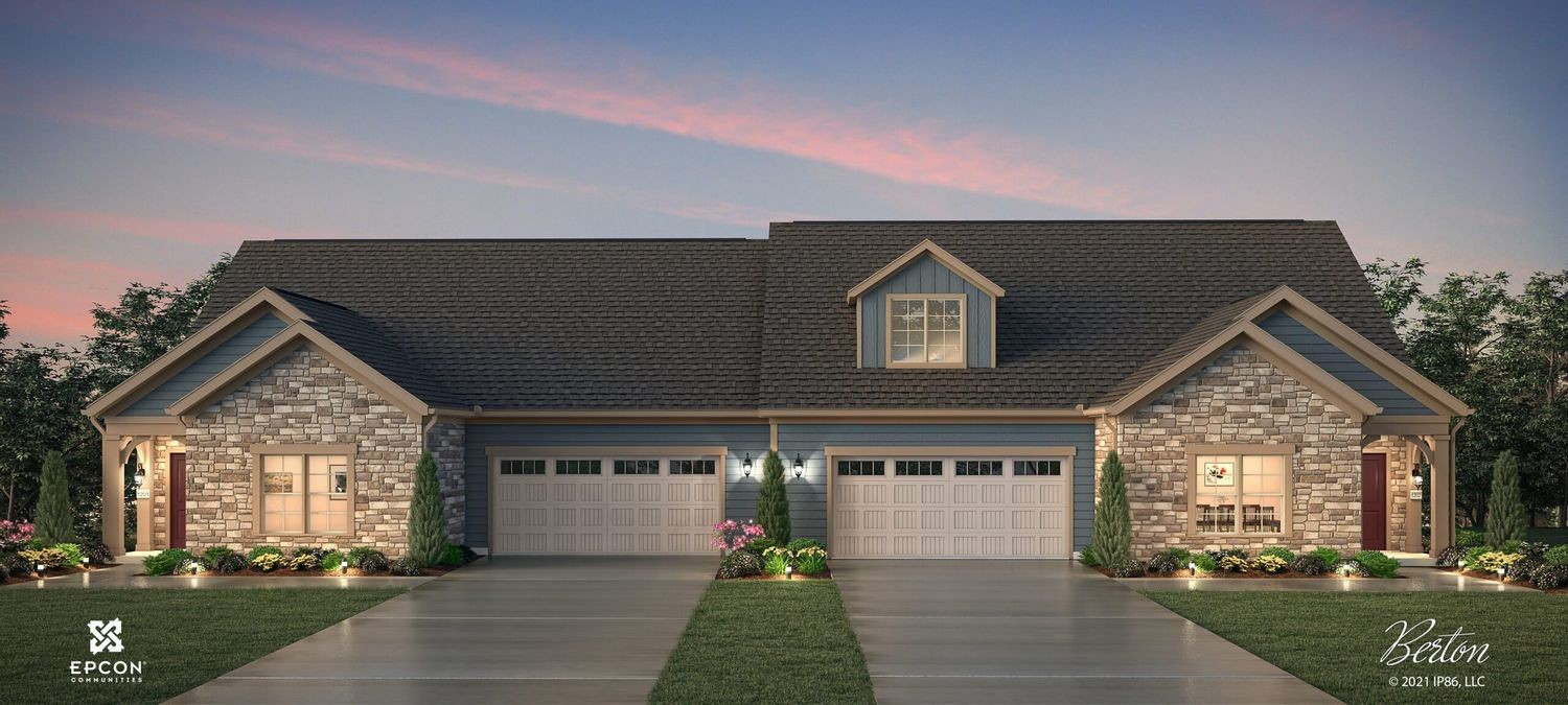Ready To Build Home In The Courtyards on Hyatts Community