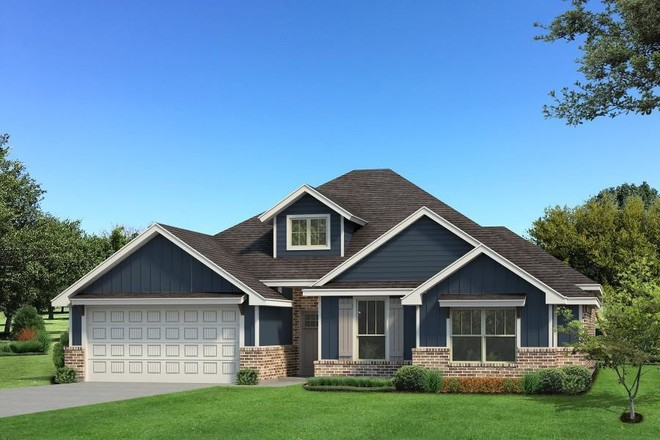 Move In Ready New Home In The Woods at Highgarden Community