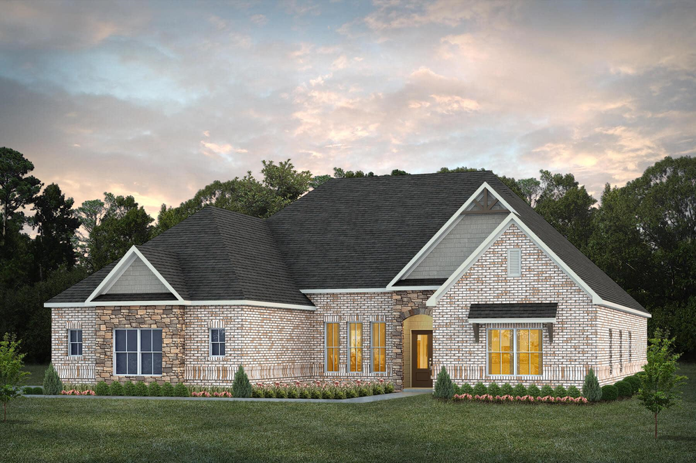 Move In Ready New Home In Coventry Community