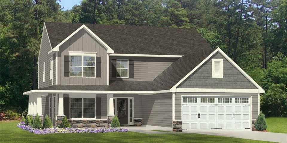 Move In Ready New Home In Rogers Farm Community