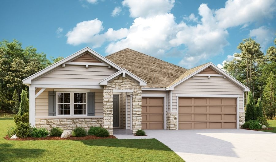 Ready To Build Home In Legacy Community