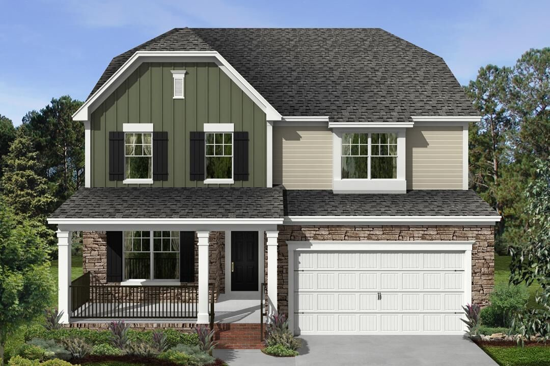 Move In Ready New Home In Honeycutt Farm Community