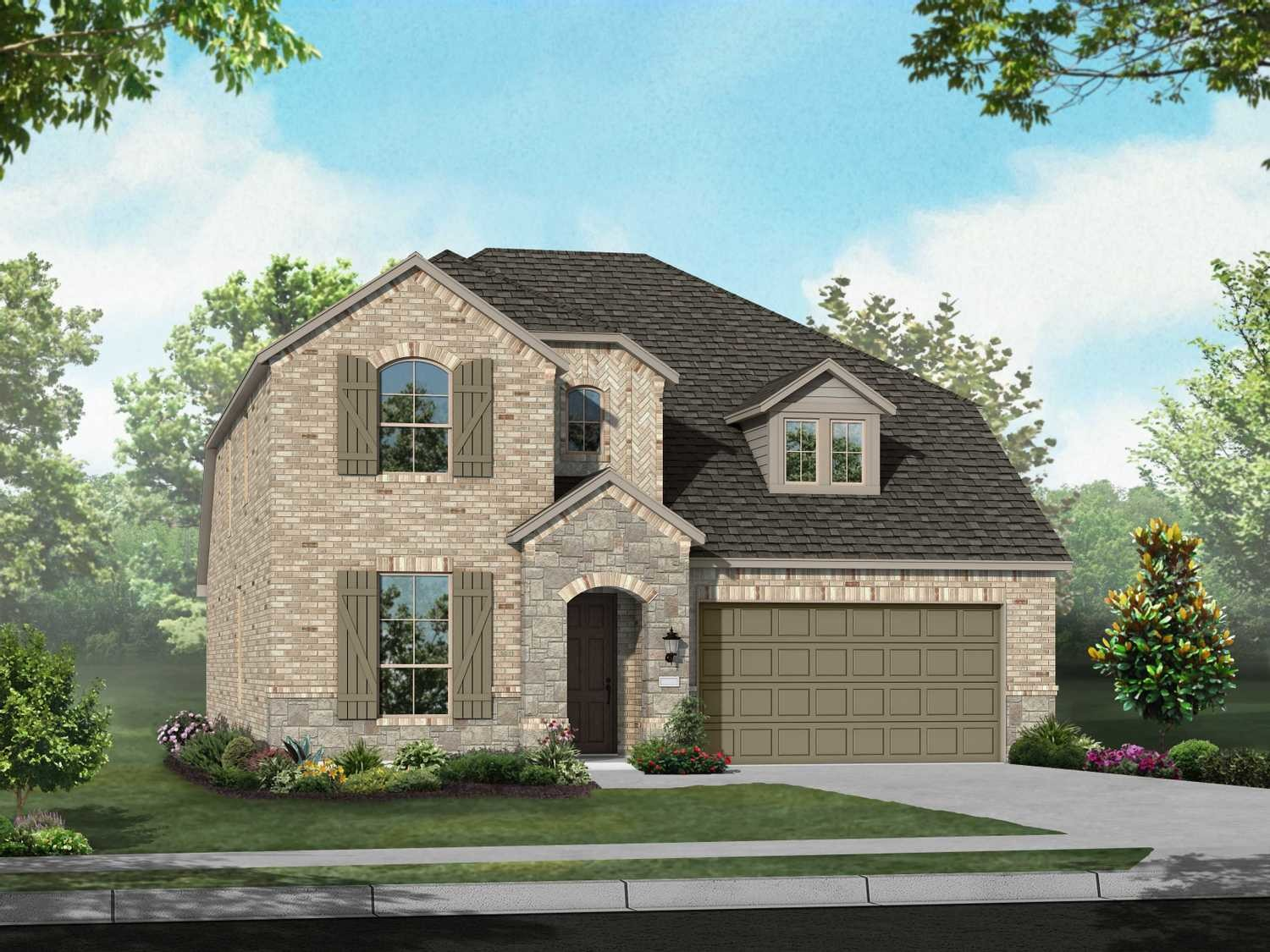 Move In Ready New Home In Waterscape Community