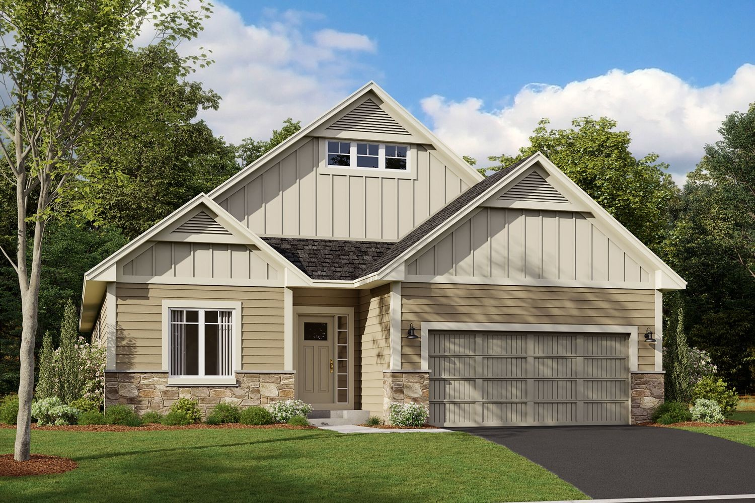 Move In Ready New Home In Woodland Cove Community