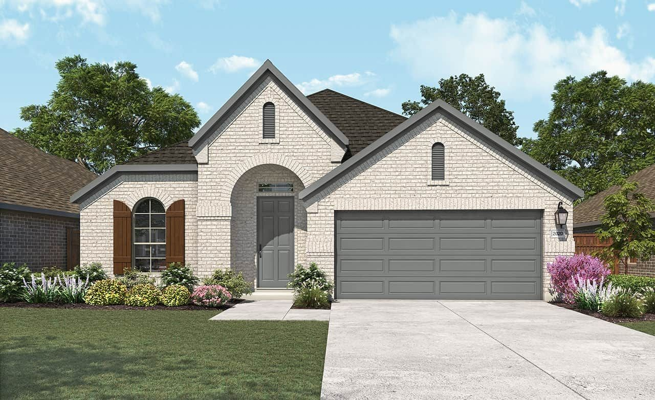Ready To Build Home In Wildflower Ranch Community