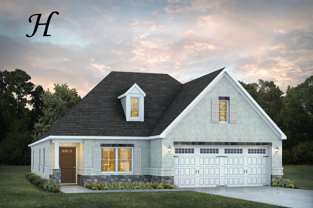 Ready To Build Home In Townsend Farm Community