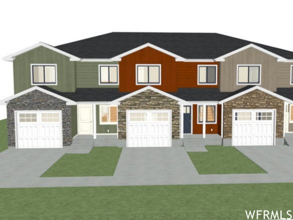 3-Story Townhouse In Nephi