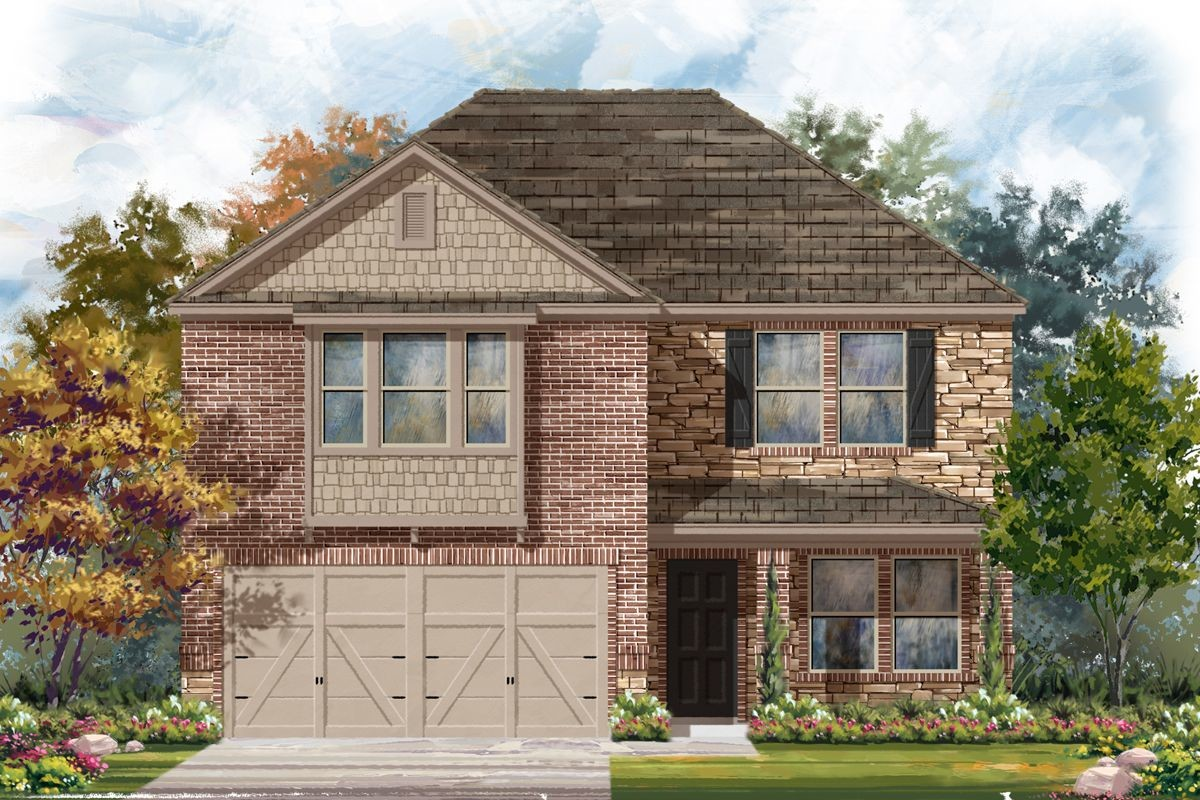 Move In Ready New Home In Edgebrook Community