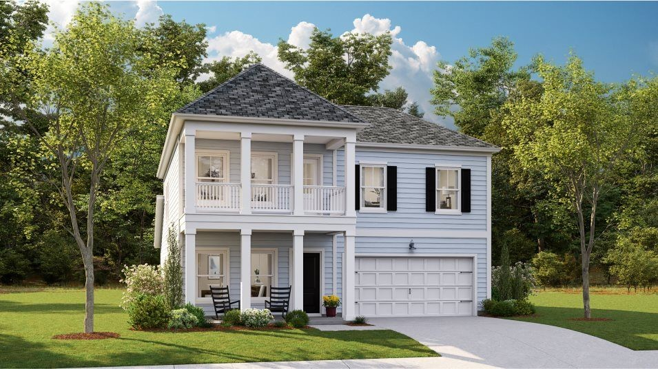 Move In Ready New Home In Limehouse Village - Arbor Series Community