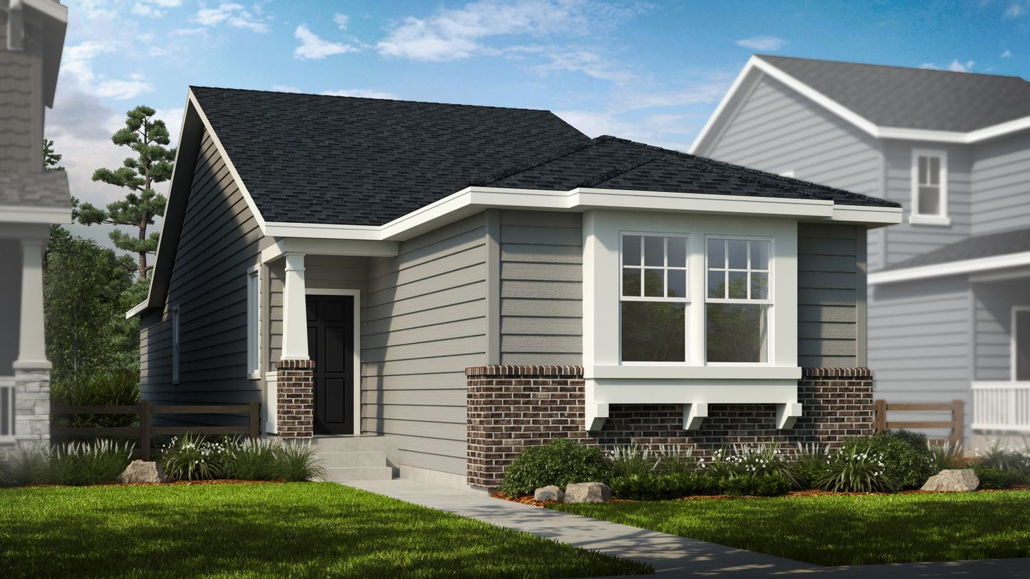 Ready To Build Home In Sterling Ranch Prospect Village Community