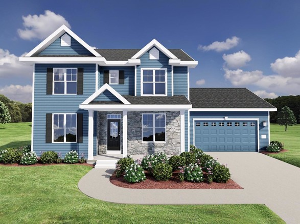 Ready To Build Home In Smith's Crossing McCoy Addition Community