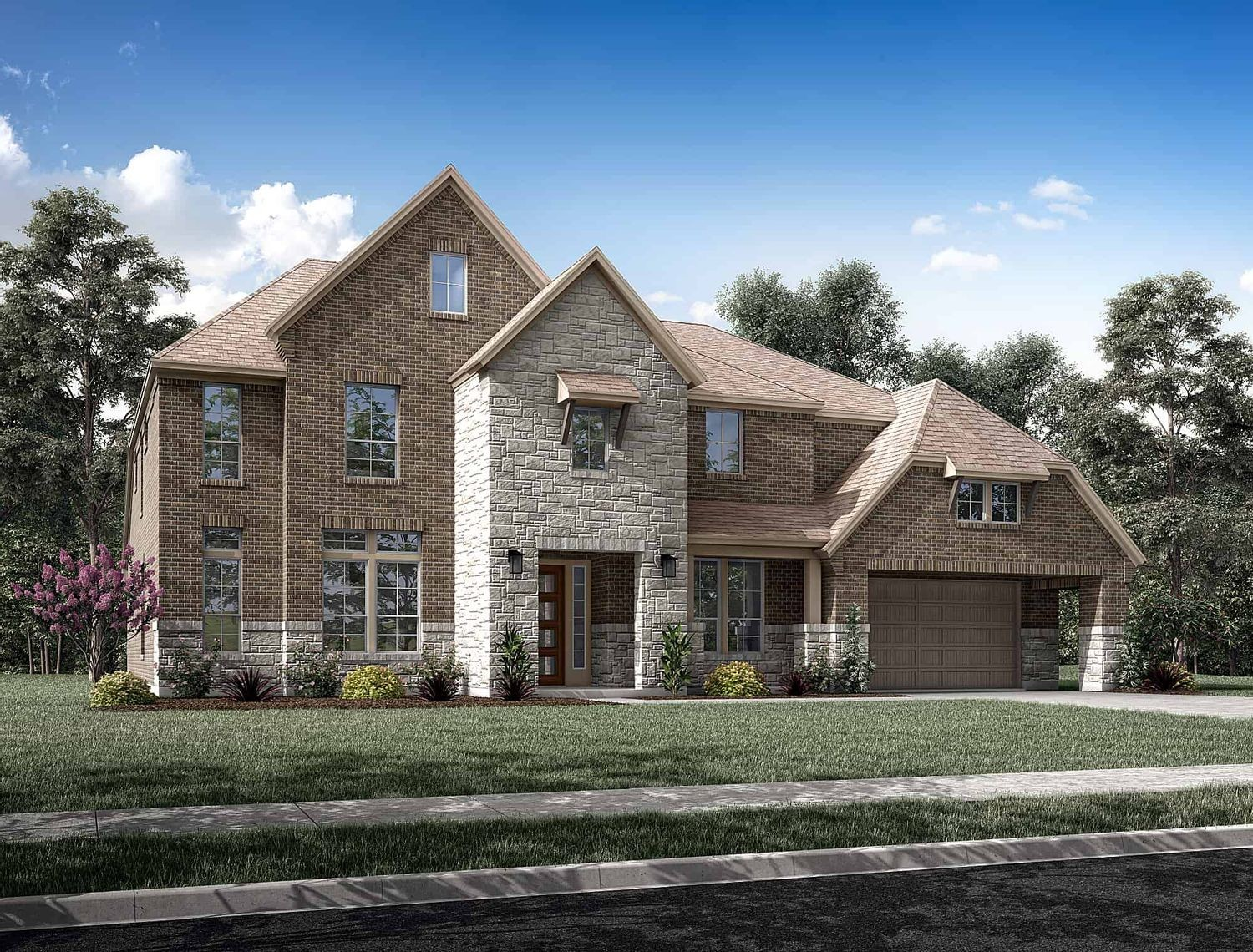 Ready To Build Home In Sienna 80 Community