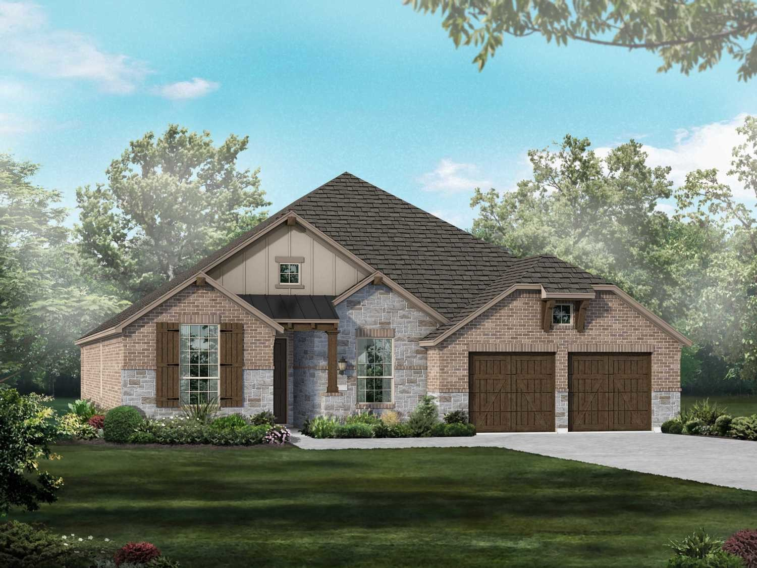 Move In Ready New Home In Walsh: 60ft. lots Community