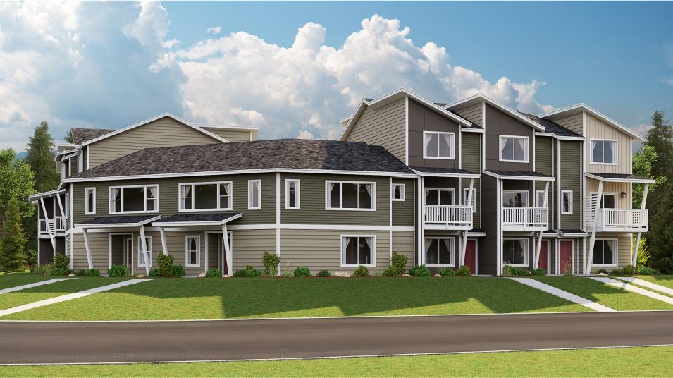 Move In Ready New Home In Sunrise - Emerald Pointe Townhomes Community