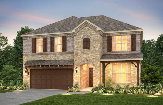 Move In Ready New Home In Davis Ranch Community