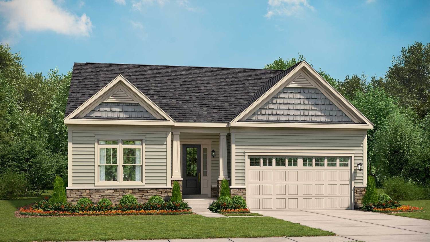 Move In Ready New Home In Woodhall Community
