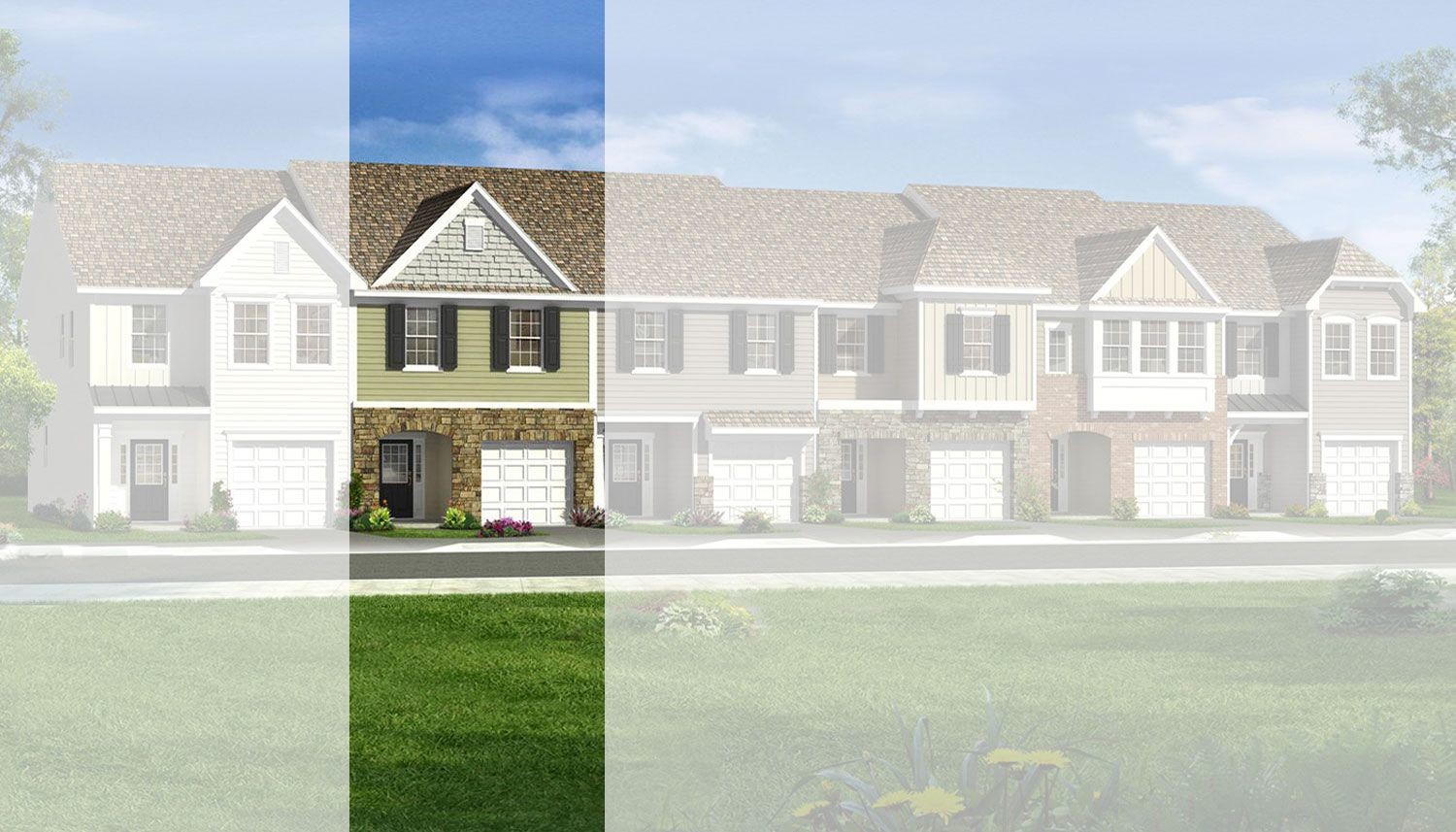 Move In Ready New Home In Malory Square at Camelot Village Community