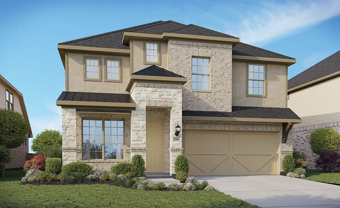 Move In Ready New Home In Meyer Ranch Community